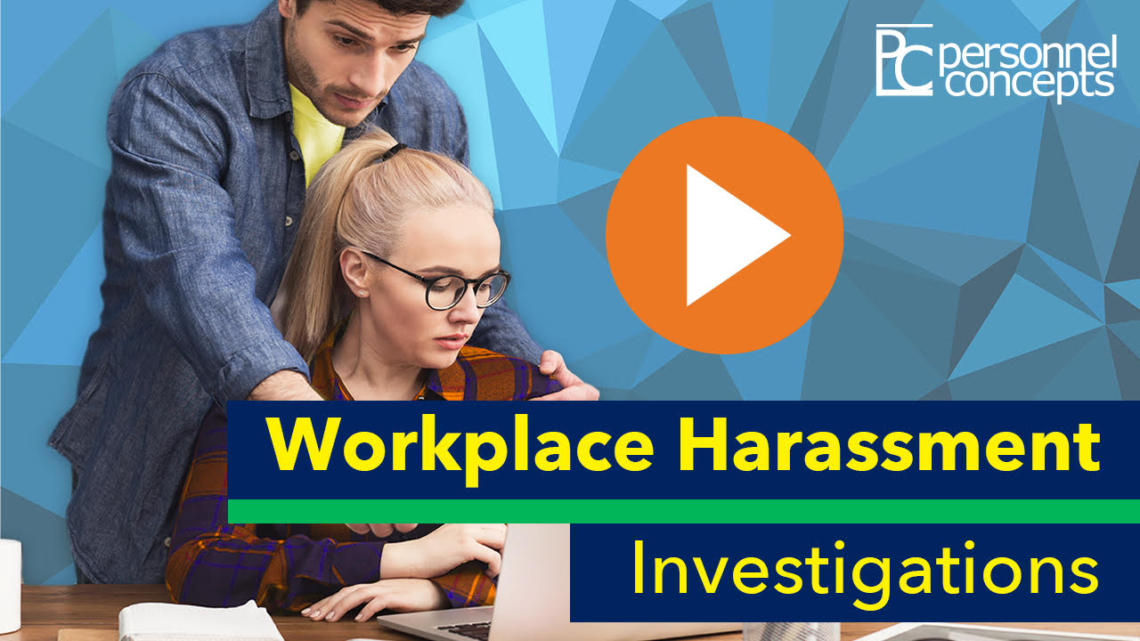 Personnel Concepts Workplace Harassment Investigations Video